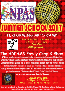 Summer Camp 2017, Summer School 2017